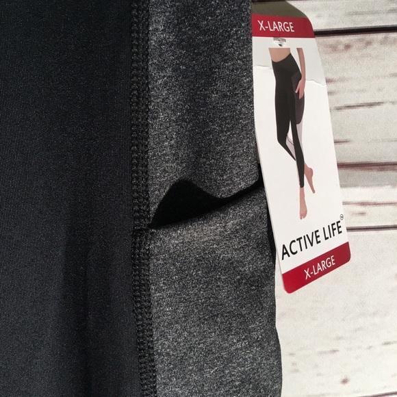 62331a1d1b1691 Active Life Pants   New Womens Leggings Capri Yoga   Poshmark